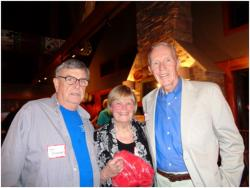 Vietnam Veterans Tom Browne,  Nancy Paulson and Tad Oelstrom