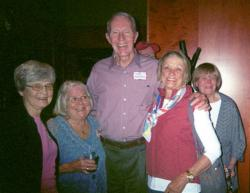Lois Young, Carol Hagerstrom, Tad Oelstrom, Sandy Illing (Oelstrom), Nancy Paulson
