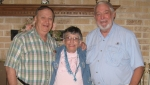 Jack Dresdow, Eleanor Michael, Dave Isabell